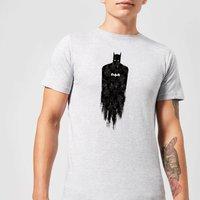 DC Comics Batman Brushed T-Shirt in Grey - 4XL - Grey