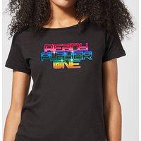 Ready Player One Rainbow Logo Women's T-Shirt - Black - M - Black