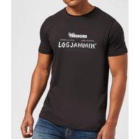 The Big Lebowski Logjammin T-Shirt - Black - L - Black