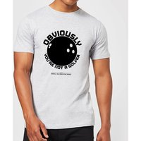 The Big Lebowski Obviously You're Not A Golfer T-Shirt - Grey - M - Grey