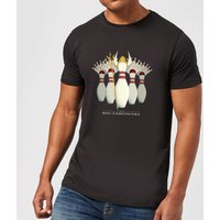 The Big Lebowski Pin Girls T-Shirt - Black - M - Black