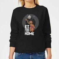 E.T. Phone Home Women's Sweatshirt - Black - L - Black