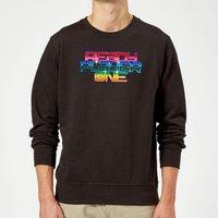 Ready Player One Rainbow Logo Sweatshirt - Black - XL - Black