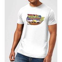 Back To The Future Lasso T-Shirt - White - XS