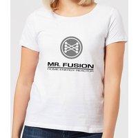 Back To The Future Mr Fusion Women's T-Shirt - White - 4XL - White