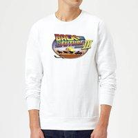 Back To The Future Lasso Sweatshirt - White - XXL - White