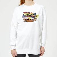 Back To The Future Lasso Women's Sweatshirt - White - L - White