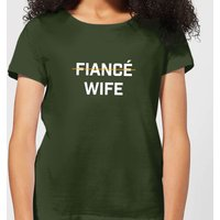 Fiance Wife Women's T-Shirt - Forest Green - L - Forest Green