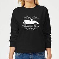 Honeymoon Vibes Women's Sweatshirt - Black - XS - Black