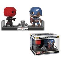 Marvel Captain America and Red Skull Pop! Movie Moment