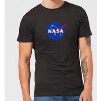 NASA Logo Insignia T-Shirt - Black - XXL - Black