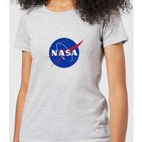 NASA Logo Insignia Women's T-Shirt - Grey - 5XL