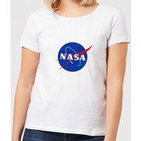 NASA Logo Insignia Women's T-Shirt - White - 5XL - White