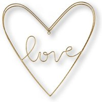 Image of Art for the Home Gold Amour Wire Wall Art