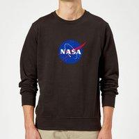 NASA Logo Insignia Sweatshirt - Black - XXL - Black
