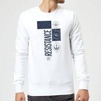 Star Wars The Resistance White Sweatshirt - White - XXL - White
