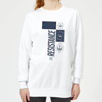 Star Wars The Resistance White Women's Sweatshirt - White - XL - White