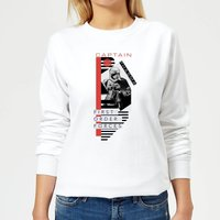 Star Wars Captain Phasma Women's Sweatshirt - White - M - White