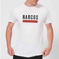Narcos Classic Logo T-Shirt - White - 4XL - White