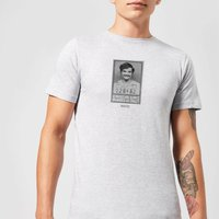 Narcos Geniuses Are Always Crazy Black And White T-Shirt - Grey - 4XL - Grey