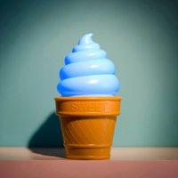 Ice Cream LED Night Light - Blue