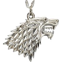 Game of Thrones House Stark Sterling Silver Pendant - Jewellery Gifts