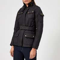 Barbour International Womens Tourer Polarquilt Jacket - Navy - UK 8