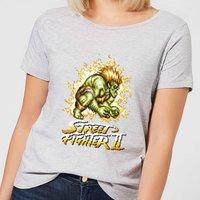 Street Fighter Blanka 16-bit Women's T-Shirt - Grey - 3XL - Grey