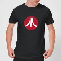 Atari Circle Logo Mens T-Shirt - Black - 4XL - Black