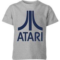 Atari Logo Kids' T-Shirt - Grey - 11-12 Years - Grey