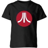 Atari Circle Logo Kids' T-Shirt - Black - 11-12 Years - Black