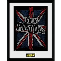 Sex Pistols Flag 12 x 16 Inches Framed Photograph - Sex Gifts