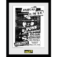 Sex Pistols 100 Club 12 x 16 Inches Framed Photograph - Sex Gifts