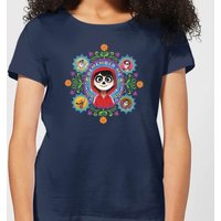 Coco Remember Me Women's T-Shirt - Navy - S - Navy