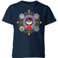 Coco Remember Me Kids' T-Shirt - Navy - 7-8 Years