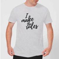 I Make The Rules Men's T-Shirt - Grey - M - Grey