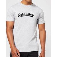 Exhausted Men's T-Shirt - Grey - L - Grey