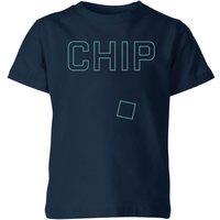 Chip Kids' T-Shirt - Navy - 11-12 Years - Navy
