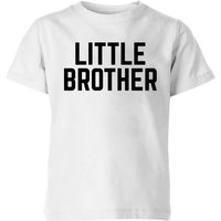 My Little Rascal Little Brother Kids' T-Shirt - White - 11-12 Years - White - Brother Gifts