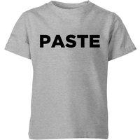 Paste Kids' T-Shirt - Grey - 11-12 Years - Grey