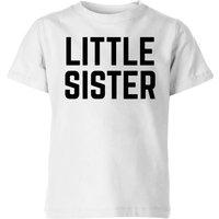 My Little Rascal Little Sister Kids' T-Shirt - White - 11-12 Years - White - Sister Gifts