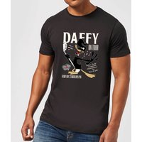 Looney Tunes Daffy Concert Men's T-Shirt - Black - M - Black