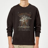 Looney Tunes Wile E Coyote Guitar Arena Tour Sweatshirt - Black - XXL - Black - Guitar Gifts