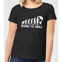 Born To Grill Women's T-Shirt - Black - XL - Black