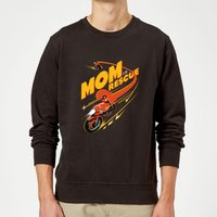 The Incredibles 2 Mom To The Rescue Sweatshirt - Black - M - Black