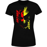 Ant-Man And The Wasp Split Face Women's T-Shirt - Black - S - Black