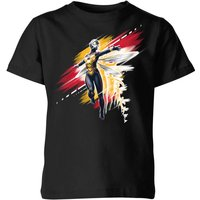 Ant-Man And The Wasp Brushed Kids' T-Shirt - Black - 5-6 Years - Black