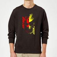 Ant-Man And The Wasp Split Face Sweatshirt - Black - M - Black