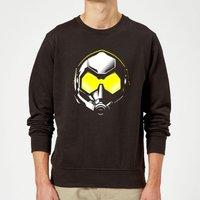 Ant-Man And The Wasp Hope Mask Sweatshirt - Black - M - Black
