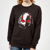 Ant-Man And The Wasp Scott Mask Women's Sweatshirt - Black - M - Black